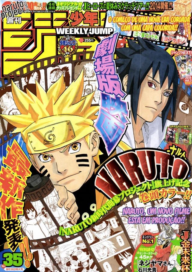 Weekly Shonen JUMP ToC #35/14: One Piece em primeiro